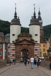 Das Brückentor der alten Brücke