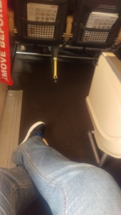 Fly Swiss - Beinfreiheit im Flugzeug