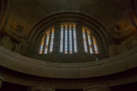 Blick in die Ruhmeshalle des Völkerschlachtdenkmals