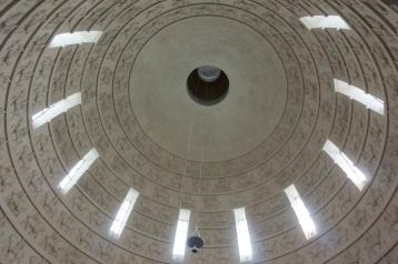 Die Kuppel des Völkerschlachtdenkmals