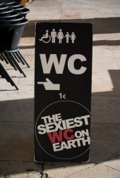 The sexiest WC on earth