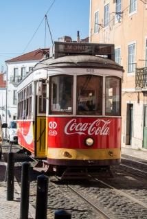 The tramways of Lissabon