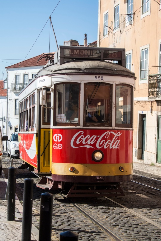 The tramways of Lissabon