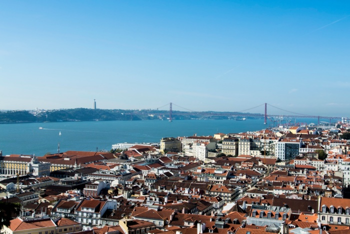 Lissabon - Blick vom Castelo de S. Jorge