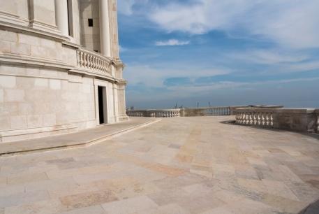 Auf dem Dach des National Pantheon
