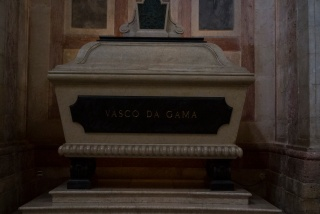 Sarkophag von Vasco Da Gama im National Pantheon