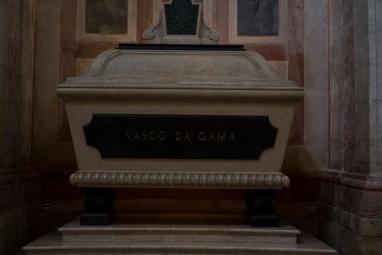 Sarkophag von Vasco Da Gama im National Pantheon