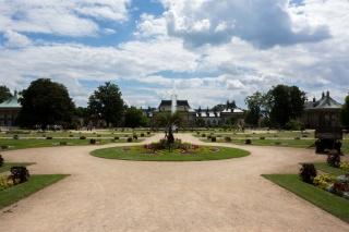 Park des Schloss Pillnitz