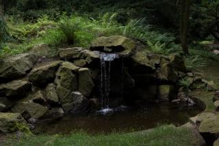 Quelle im Park des Schloss Pillnitz