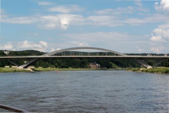 Waldschlösschenbrücke in Dresden