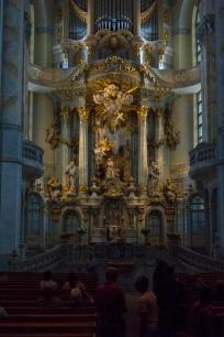 Im Innern der Dresdner Frauenkirche