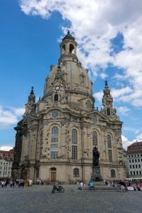 Die wieder aufgebaute Dresdner Frauenkirche