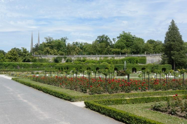 Der Park der Residenz
