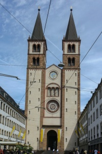 Der Dom zu Würzburg