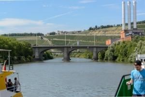 Der Main flussaufwärts