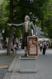 Goethe leads the way...