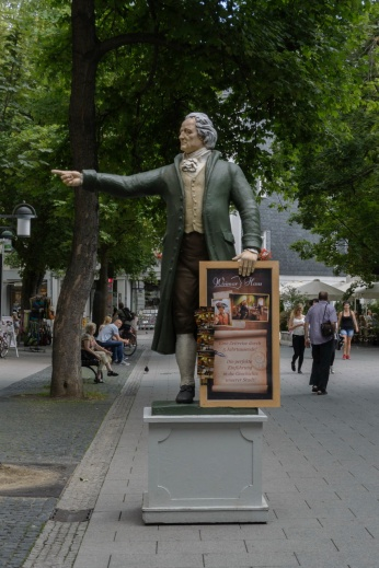 Goethe leads the way...