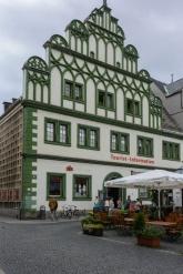 Weimarer Touristikbüro am Marktplatz