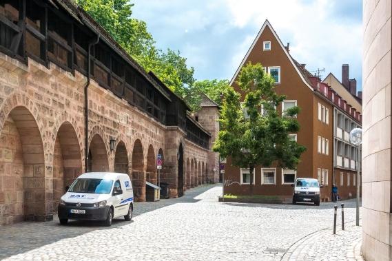 Innerhalb der alten Stadtmauern
