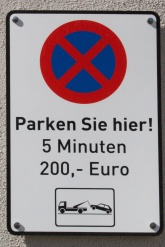 Parkverbot Ravensburg