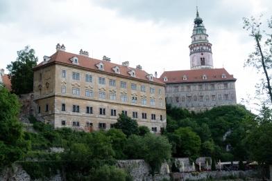 Das Schloss von der Altstadt gesehen
