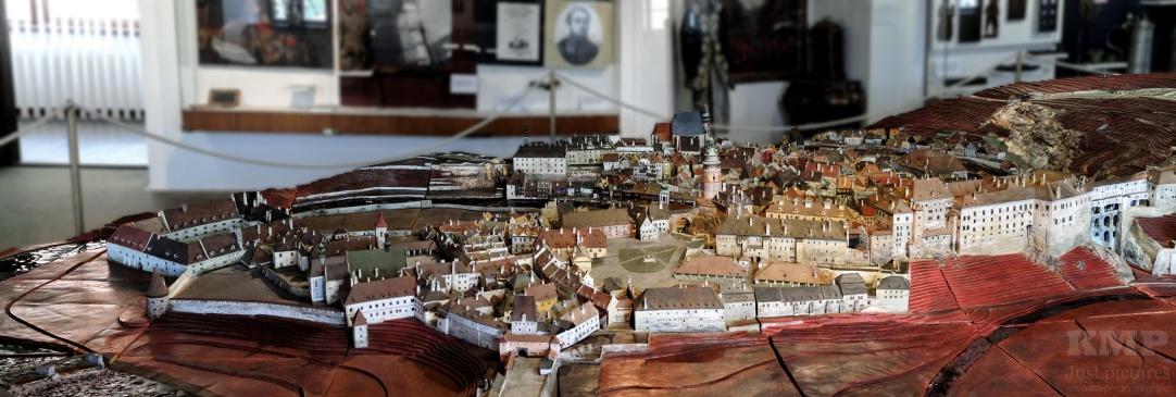 Modell der Stadt im Heimatmuseum
