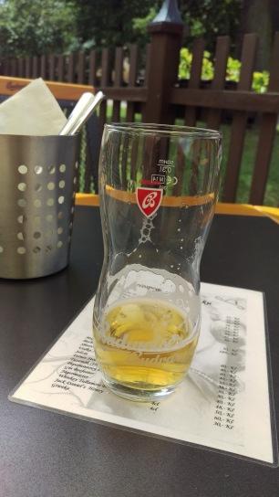 erstes Bier in Böhmen