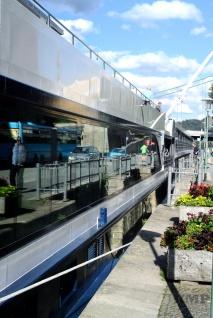 Hotelschiff auf der Donau