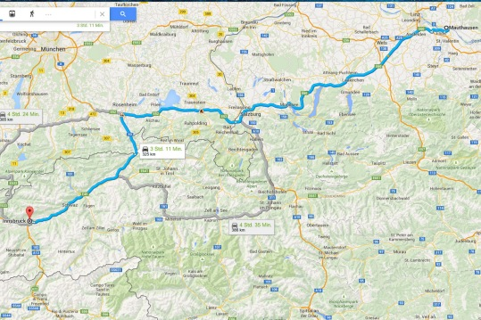 Mauthausen - Insbruck