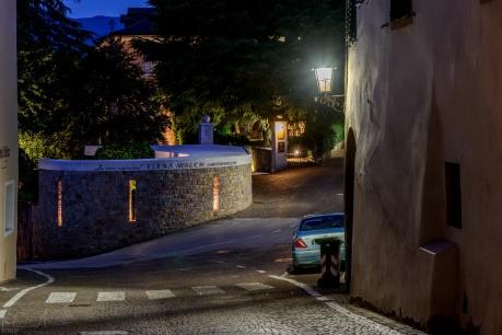 Tramin bei Nacht