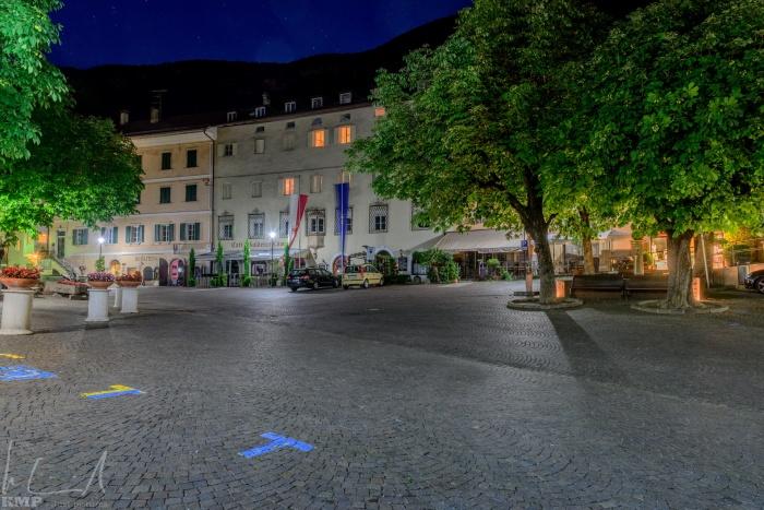 Rathausplatz in Tramin