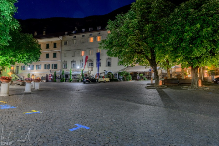 Rathausplatz in Tramin