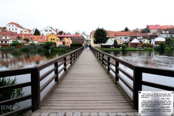 Brücke, geschenkt von Belp an Telč