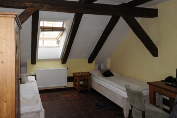 Mein Hotelzimmer (Hotel U Hraběnky)