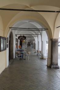 In den Arkaden am Marktplatz