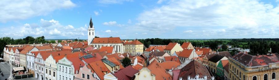 Blick über die Dächer der Stadt