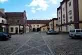 Innenhof der Bierbrauerei
