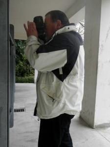 Vor den Desinfektionskammern