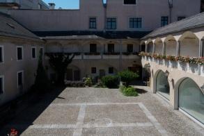 Innenhof des Heimatmuseums