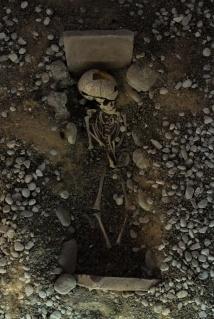 römisches Grab