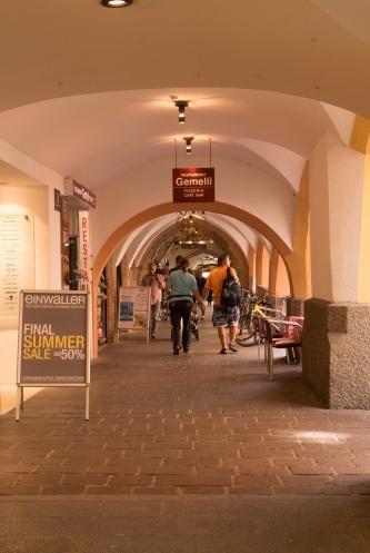 Shopping in der Innenstadt