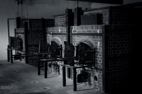 Die Öfen des neuren Krematoriums