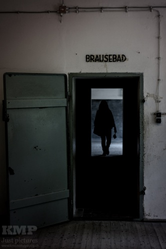 Der Eingang zur Gaskammer