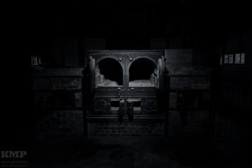 Der Ofen des älteren Krematoriums