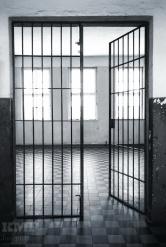 Eingang zu Arrestblock