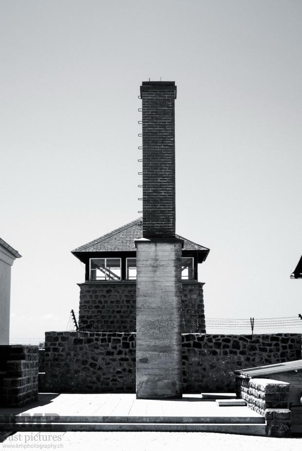 Kamin des Krematoriums