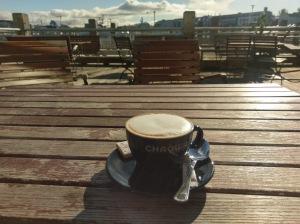 Kaffeepause im alten Hafen
