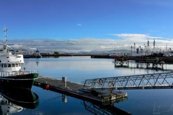Der alte Hafen von Reykjavik