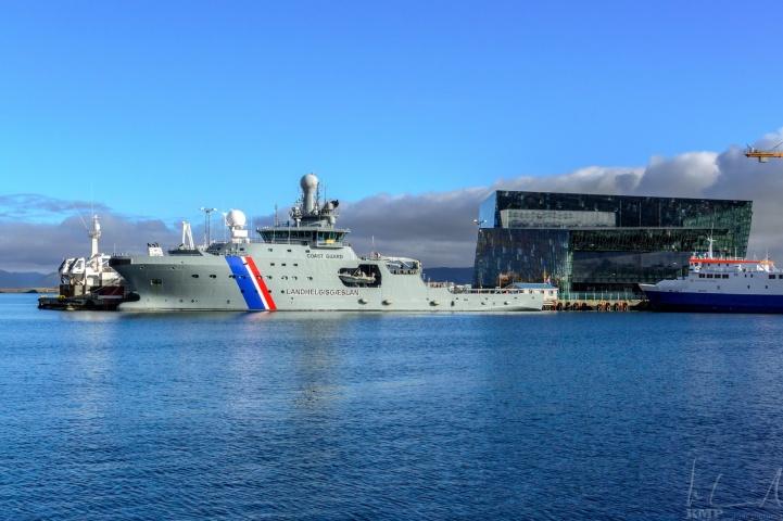 Schiff der isländischen Küstenwache