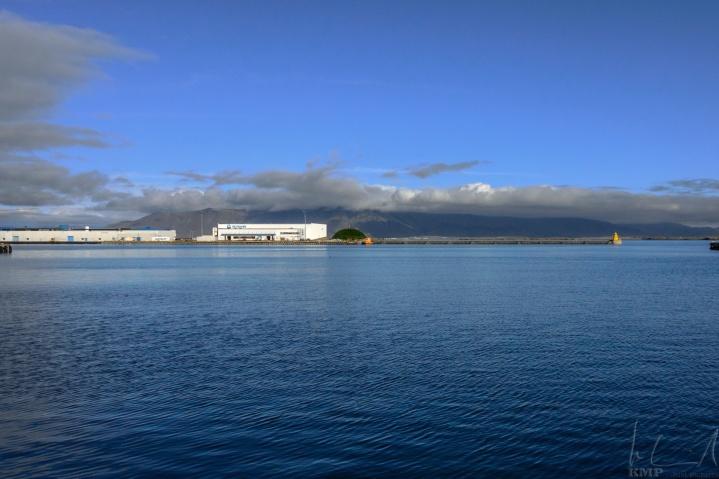 Ausfahrt des alten Hafens von Reykjavik